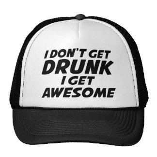 Ik niet word Drink ik word Geweldige Trucker Pet