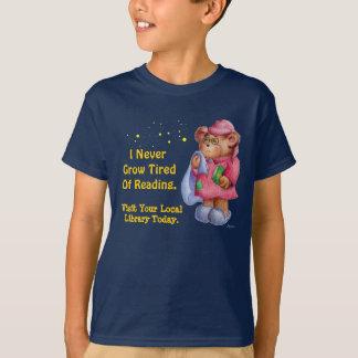 Ik nooit groei Vermoeid van Lezing T Shirt