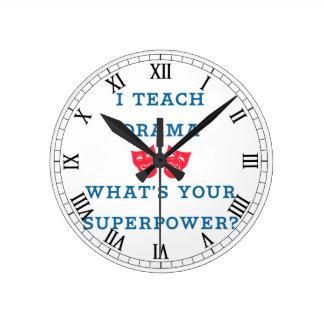 Ik onderwijs Drama wat Uw Grootmacht is? Ronde Klok