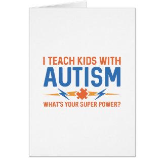 Ik onderwijs Kind met Autisme Kaart