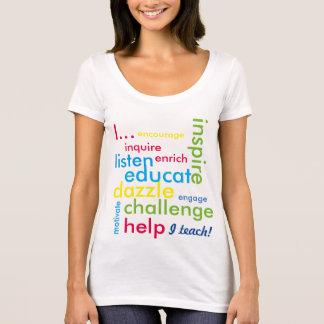 Ik onderwijs! t shirt