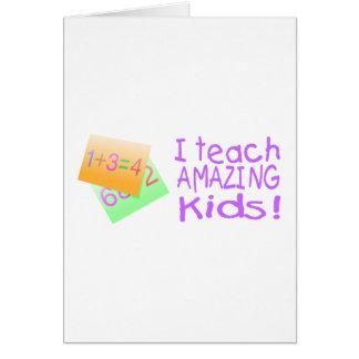 Ik onderwijs Verbazend Kind (Aantallen) Kaart