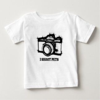 Ik ontspruit huisdieren baby t shirts