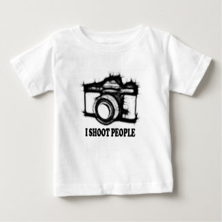 Ik ontspruit mensen baby t shirts
