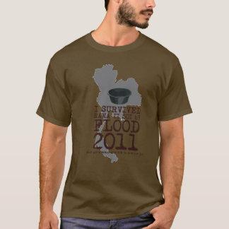 Ik overleefde 2011 Soi 69 Vloed T Shirt