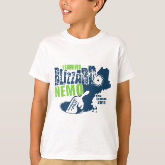 Ik overleefde Blizzard Nemo T Shirt