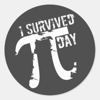 Ik overleefde de Stickers van de Dag van Pi - de