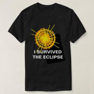 Ik overleefde Grappige klantgericht van de T Shirt