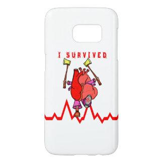 Ik overleefde harttrauma samsung galaxy s7 hoesje
