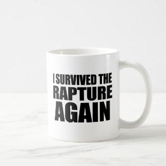 Ik overleefde opnieuw de Vervoering Koffiemok