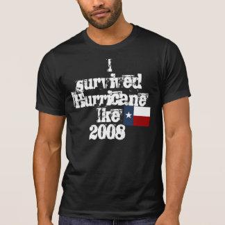 Ik overleefde Orkaan Ike2008 T Shirt