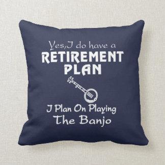 Ik plan bij het Spelen van de Banjo! Sierkussen
