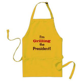 Ik rooster het President! - 4 de Grap van juli Standaard Schort