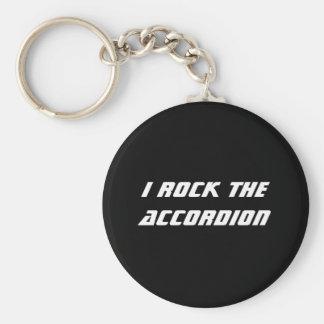 Ik schommel de Harmonika Keychain Sleutelhanger