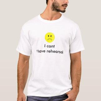Ik schuin ik heb repetitiet-shirt af t shirt