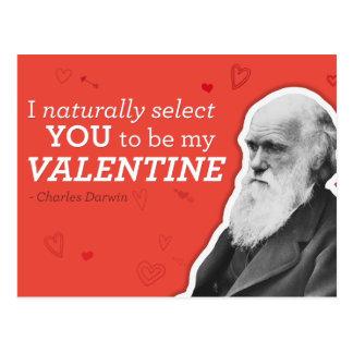 Ik selecteer u natuurlijk om Mijn Valentijn - Briefkaart
