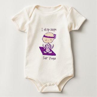ik sla dutjes voor yoga over baby shirt
