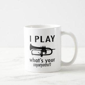 Ik speel de trompet koffiemok