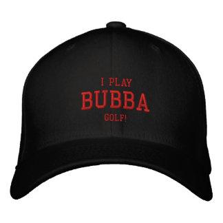 Ik speel Golf Bubba! Geborduurd pet