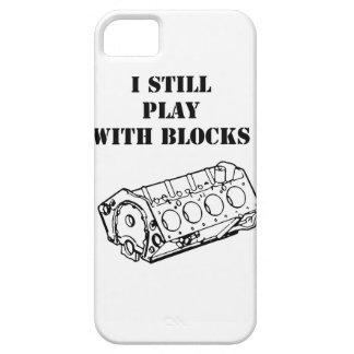 Ik speel met motorblokken nog grappig telefoonhoes barely there iPhone 5 hoesje