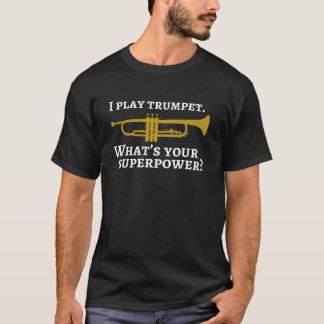 Ik speel trompetgrootmacht t shirt