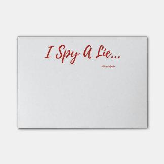 Ik spioneer de Post-its van een Leugen! Post-it® Notes