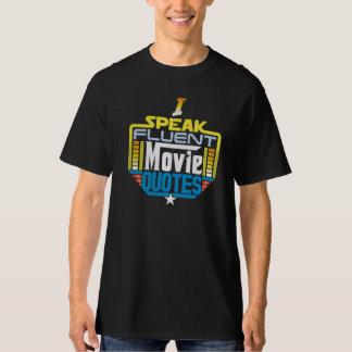 Ik spreek de Vloeiende Voorzijde van het Overhemd T Shirt