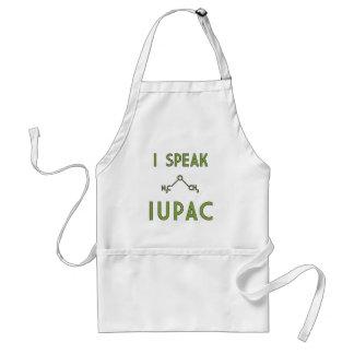 Ik spreek Schort IUPAC
