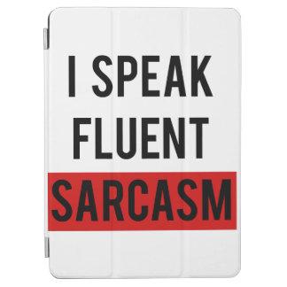 Ik spreek vloeiend sarcasme iPad air cover