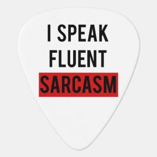 Ik spreek vloeiend sarcasme plectrum
