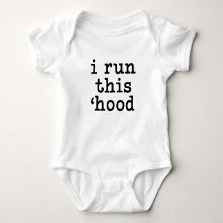Ik stel dit overhemd van het kap grappige baby in romper