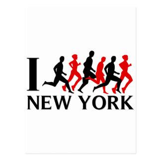 IK STEL NEW YORK IN WERKING BRIEFKAART
