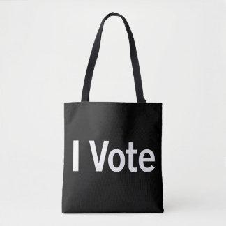 Ik stem over Bolsa - Witte Tekst Draagtas