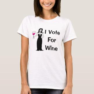 Ik stem voor Wijn T Shirt