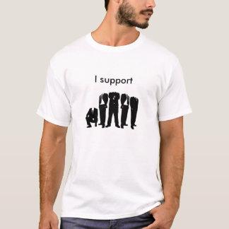 Ik steun Anoniem T Shirt
