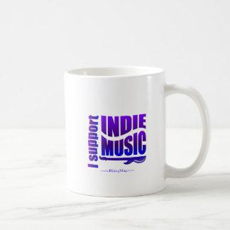 Ik steun de mok van de Muziek Indie