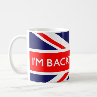 Ik steun Groot-Brittannië op Britse Vlag Koffiemok