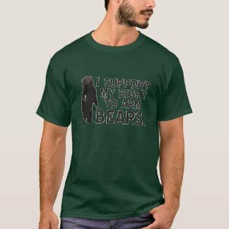 Ik steun Mijn Recht op Wapen draag T Shirt