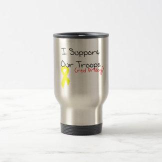 Ik steun Onze Troepen Reisbeker
