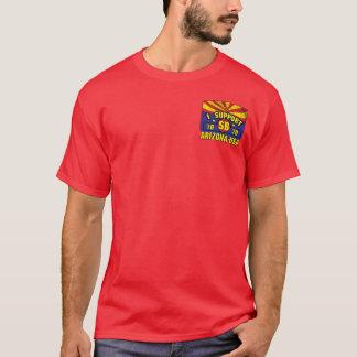 Ik steun SB1070 - Arizona - de V.S. T Shirt