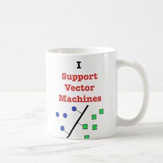 Ik steun VectorMachines Koffiemok