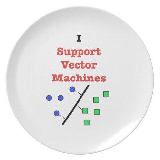 Ik steun VectorMachines Melamine+bord