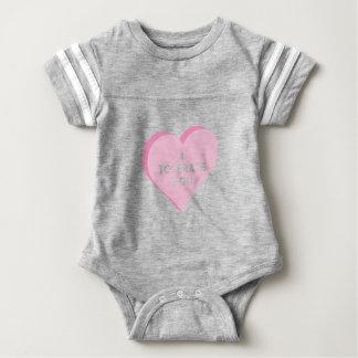 Ik tolereer u baby bodysuit