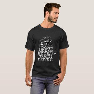 Ik trek de Rit van t op de Gekke Trein aan ik het T Shirt