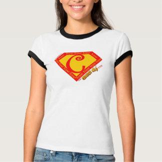 """Ik verdiende mijn """"Super C"""" in SlightlyOff.com T Shirt"""
