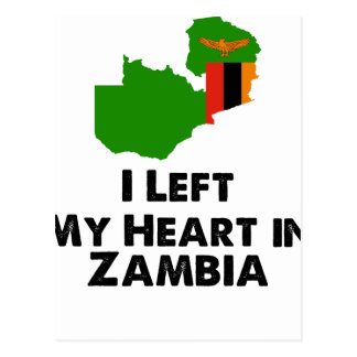 Ik verliet Mijn Hart in Zambia Briefkaart