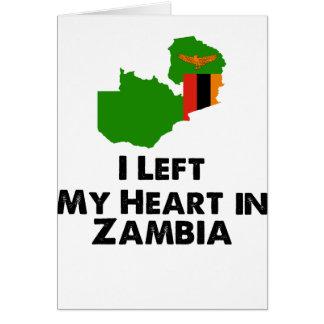 Ik verliet Mijn Hart in Zambia Briefkaarten 0