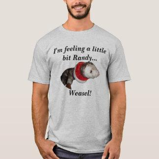 Ik voel een klein beetje Wellustige ..... T Shirt
