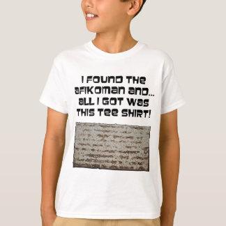 Ik vond Afikoman! Pascha Matzah T Shirt