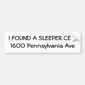 Ik VOND een Ave van de DWARSBALK CELL1600 Pennsylv Bumpersticker